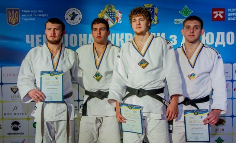Харківські дзюдоїсти здобули медалі чемпіонату України