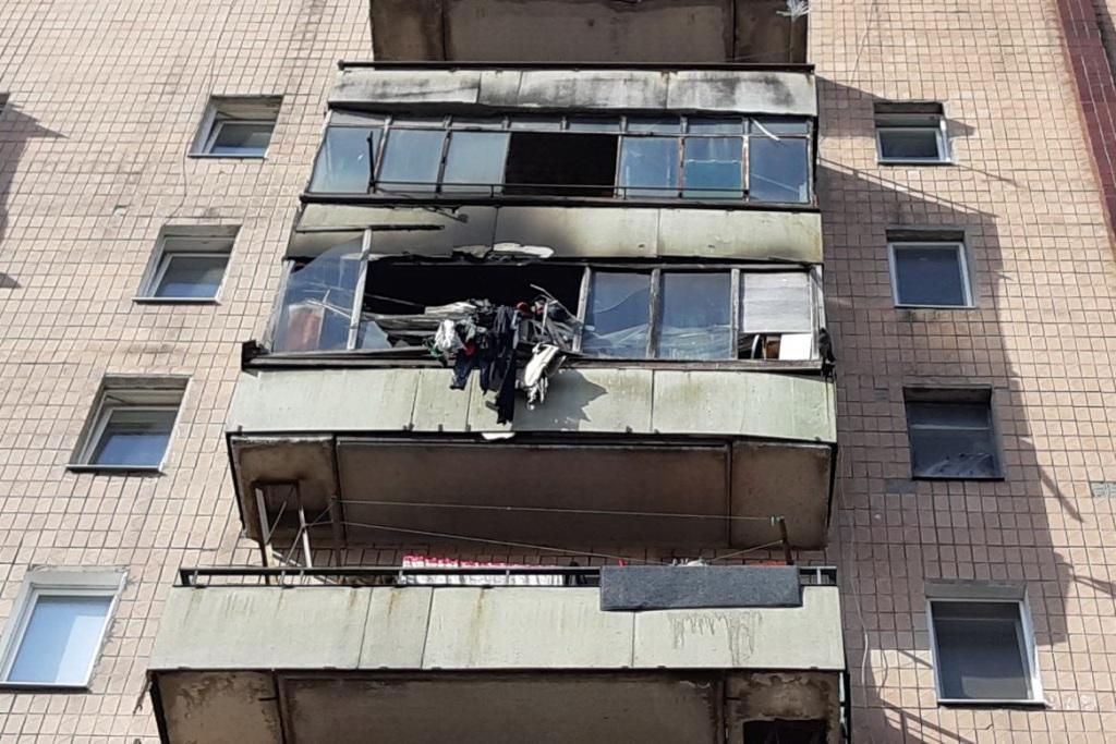 У Новобаварському районі горіла квартира в багатоповерхівці