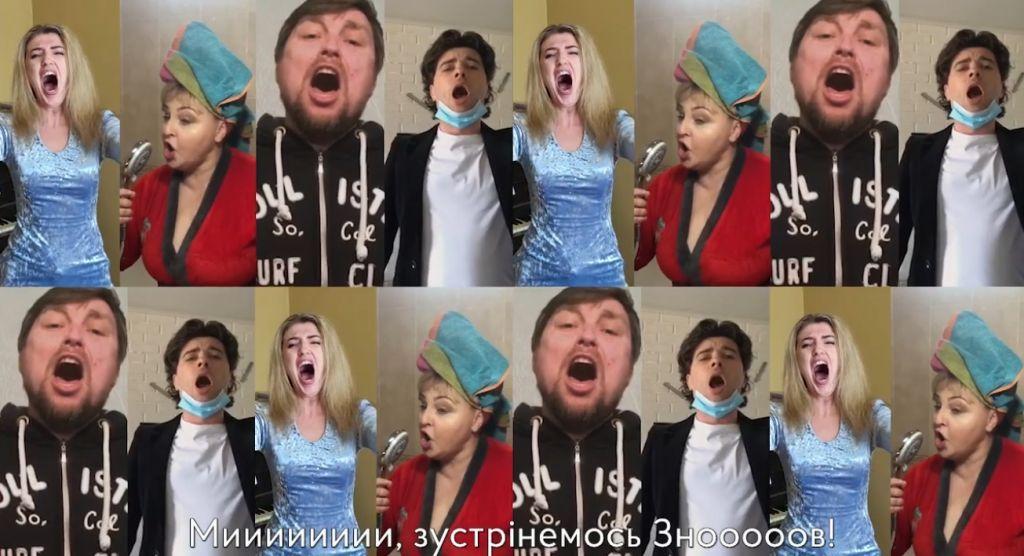 Солісти Харківської опери записали «карантинне відео»