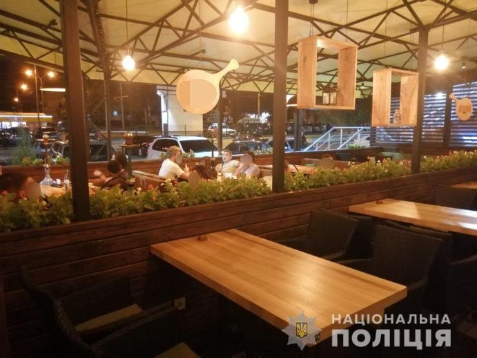 На Харківщині продовжуються рейди щодо дотримання карантину у розважальних закладах