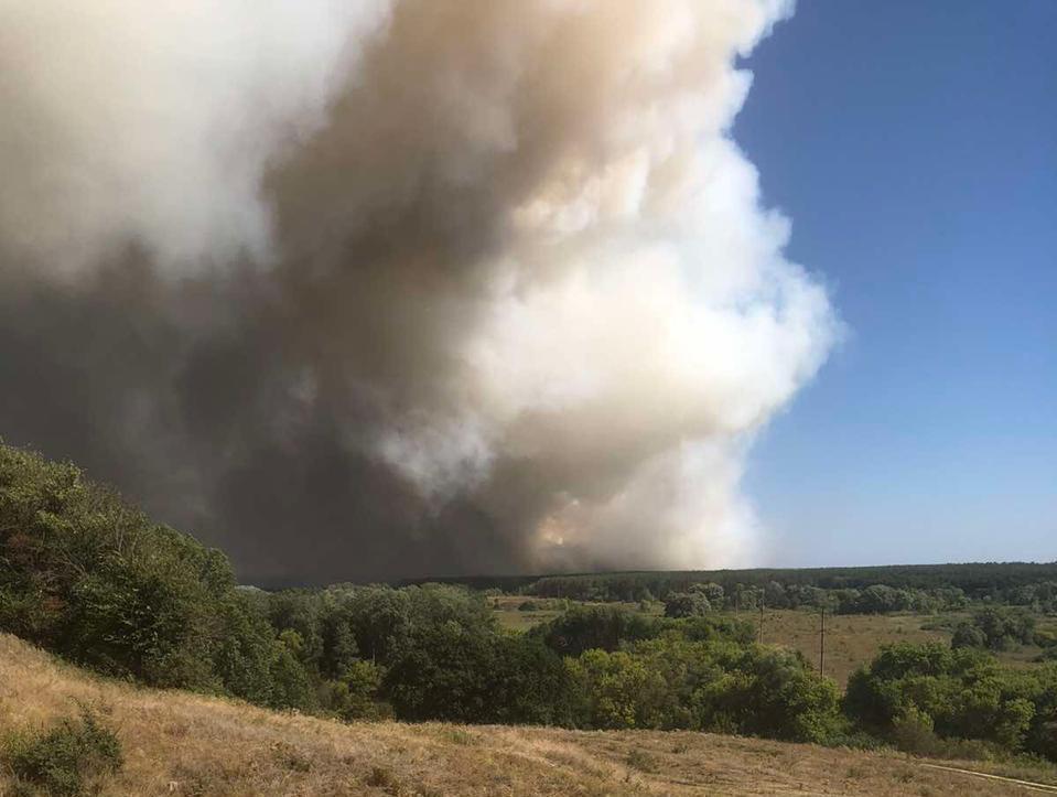 Поліція відкрила кримінальні провадження за фактом пожеж на Харківщині