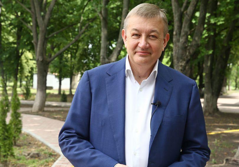 Сергій Чернов привітав мешканців Кегичівщини та Сахновщини з річницею визволення
