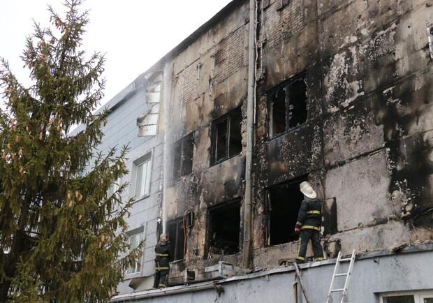 У Харкові сталася пожежа на Новожанівському м'ясокомбінаті