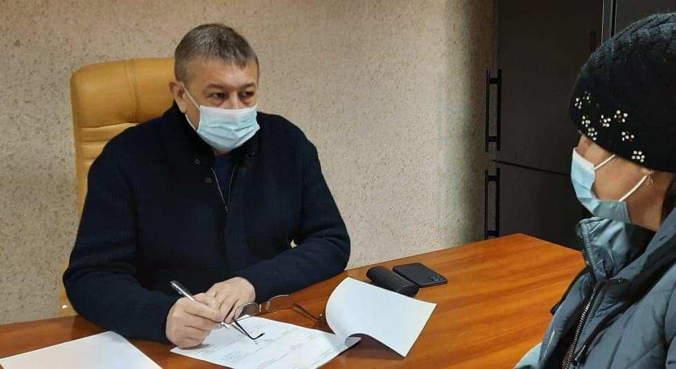 Депутат обласної ради Сергій Чернов провів виїзний прийом громадян