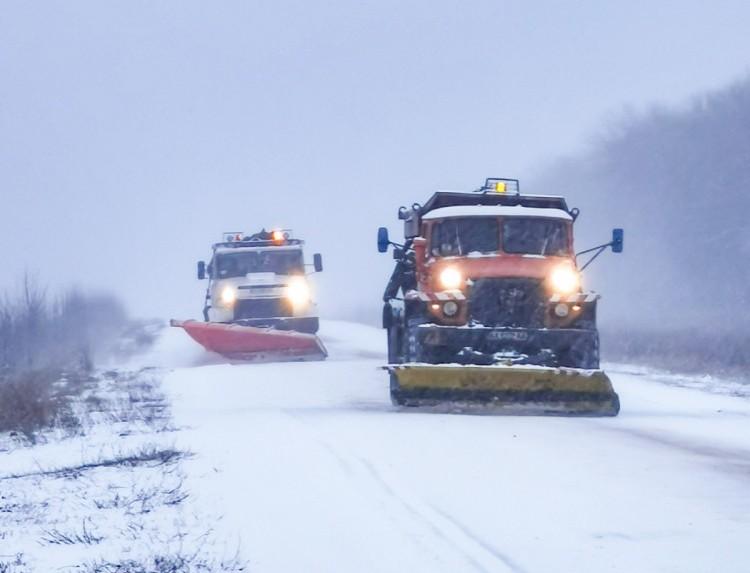 Харківщину знову накрила снігова буря
