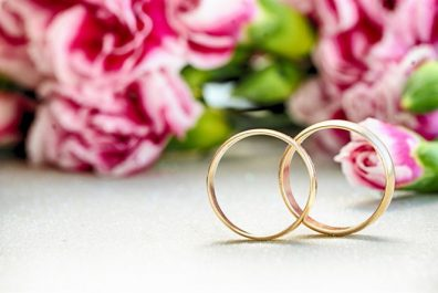 thumb2-wedding-rings-background-with-pink-roses-wedding-concepts-pair-of-rings-gold-rings