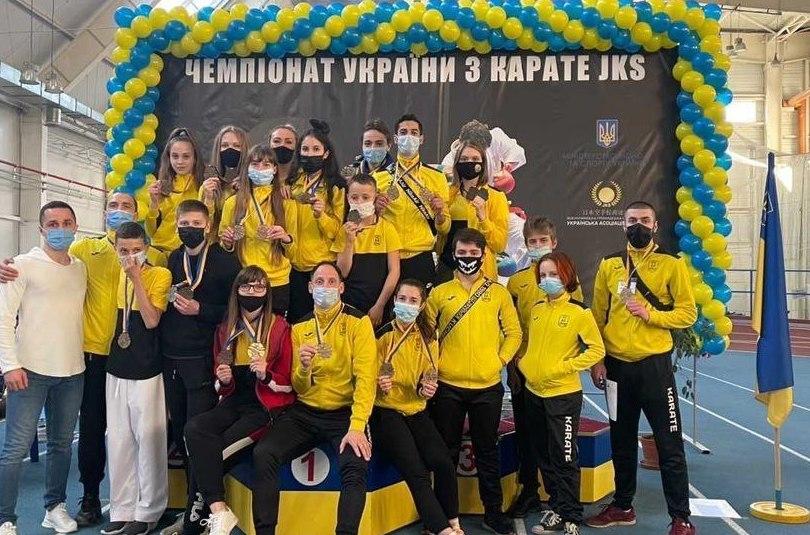 Харків'яни тріумфально виступили на першості країни з карате JKS