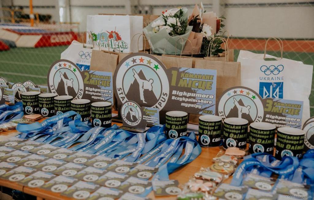 Тхеквондисти області на всеукраїнських змаганнях вибороли 187 нагород