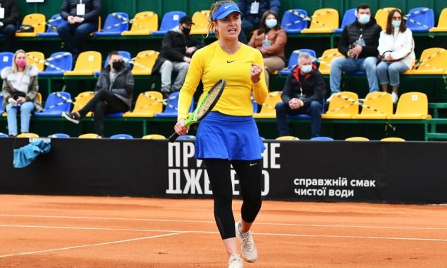 Еліна Світоліна виграла перший матч на Кубку Біллі Джин Кінг