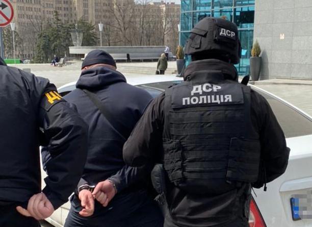 Поліцейська спецоперація у центрі Харкова