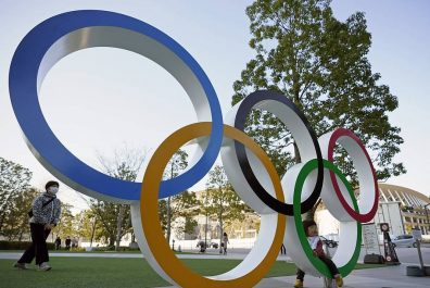Half-year before the opening of the postponed Tokyo Olympic Games