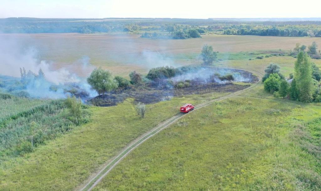 Вогнеборці Харківщини ліквідували 27 пожеж у природних екосистемах