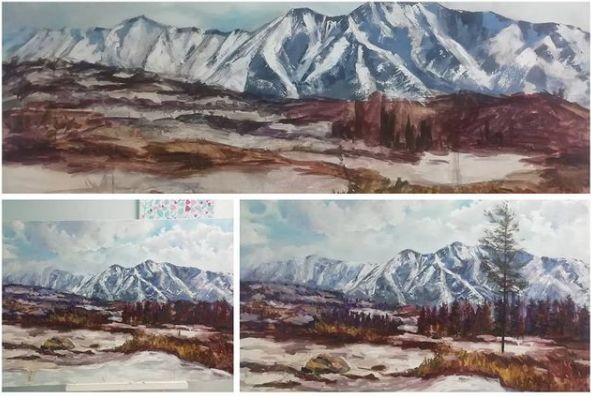 В галереї «Бузок» виставка живопису«Філософія фарб»