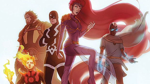 Inhumans: Attilan Rising -- Summer 2015
