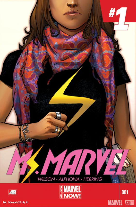 Image result for ms. marvel #1