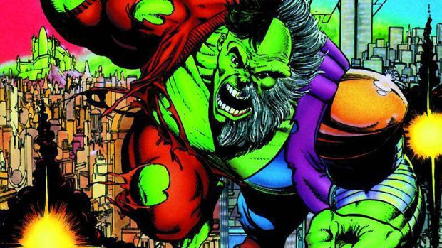 Unlimited Reading Extra: Hulk: Future Imperfect