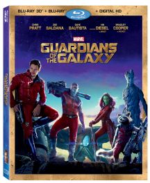 Marvel's Guardians of the Galaxy on 3D Blu-ray Combo Pack