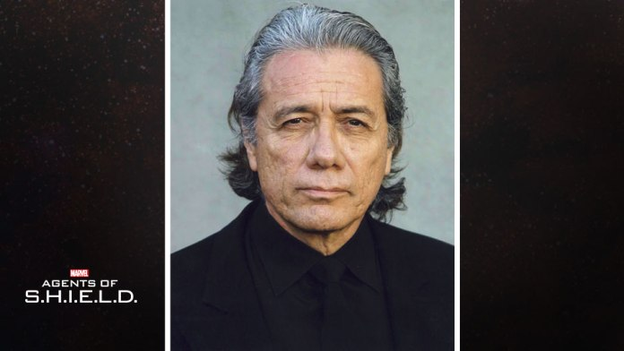 Marvel Edward James Olmos Robert Gonzales Agents of SHIELD