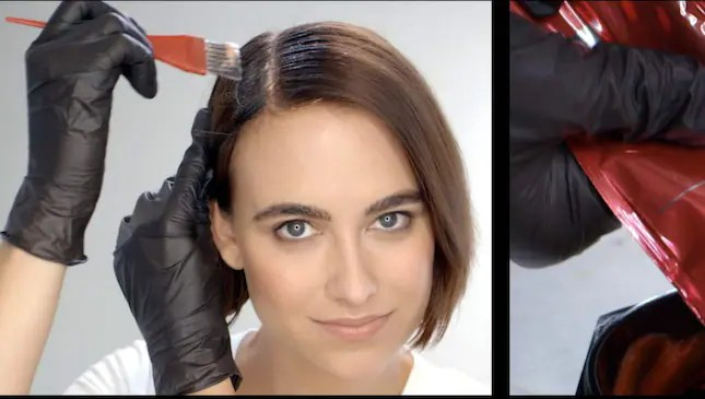 Så färgar du utväxt och hår à la Vidal Sassoon.