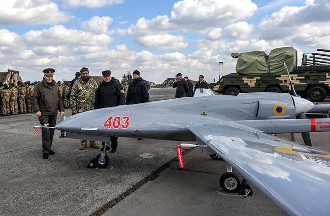 烏克蘭接收土耳其研制的無人機
