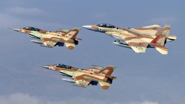 報復火箭彈襲擊 以色列空襲加沙地帶哈馬斯軍事目標