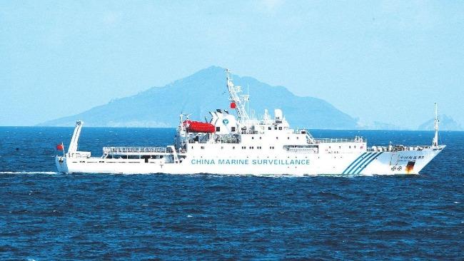 日媒:中國海警船巡航釣魚島,系海警法實施后首次