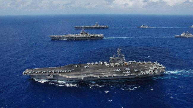 警惕!美航母戰斗群探索最新作戰模式