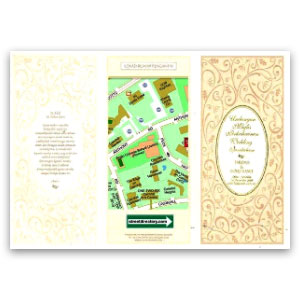 Name Cards Wedding Invitations