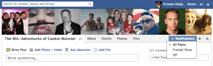 How to disable group notifications on Facebook