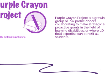 Purple Crayon Project