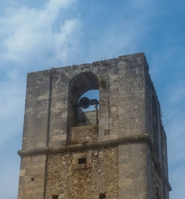 Peschici bell tower