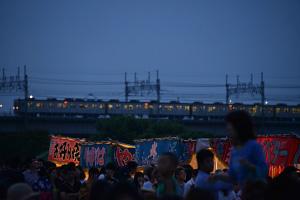 多摩川花火4