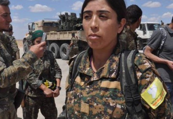Rojda Felat, the Commander leading the fight against Islamic State