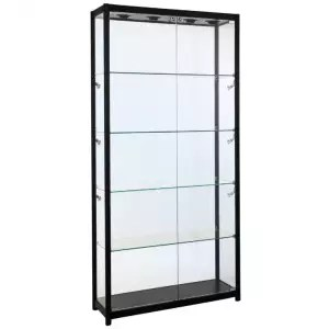 led display cabinet lighting access