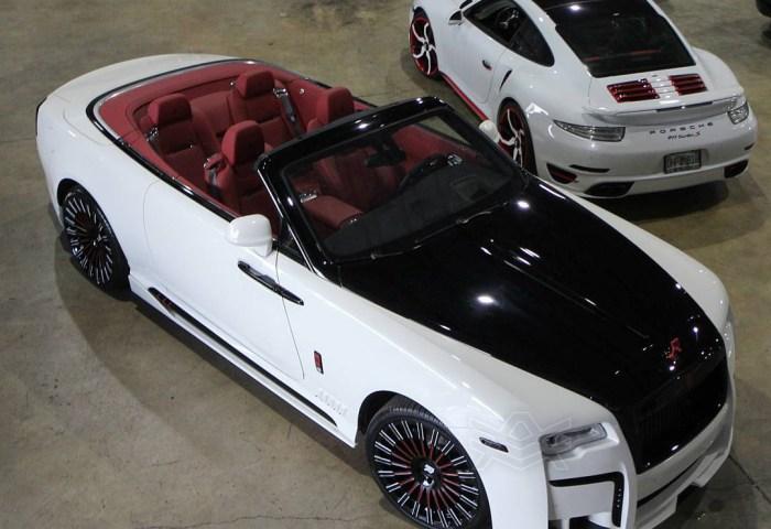 Johnny Cueto Rolls Royce Dawn The Auto Firm