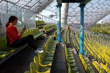München – 06.09.2018: Olympiastadion in München