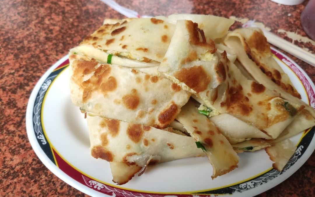 台中南區 陳記早點 傳統排隊美食,銅板美食,超好吃的自切蛋餅與煎餃