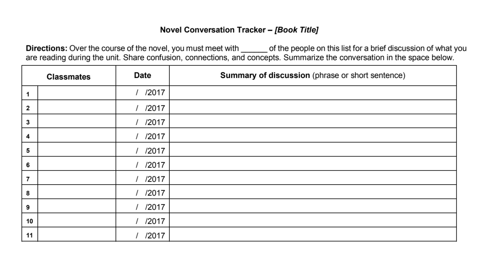 Get Students Talking With Ongoing Conversations