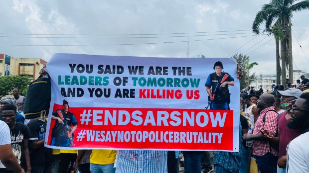 EndSARS; Nigerian youths unanimously cry against a rogue police unit |  TechCabal