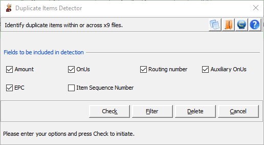 Duplicate Items Detection