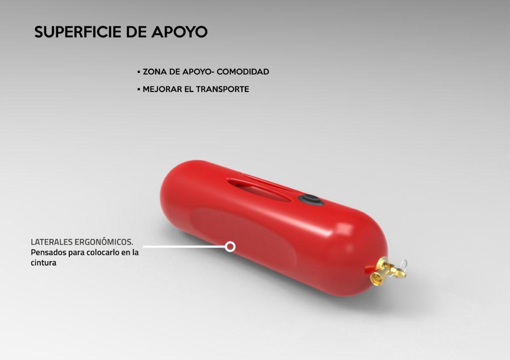 Light – Rediseño ergonomico Extintor