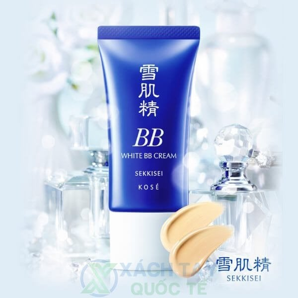 Kem trang điểm đa năng Kosé Sekkisei White BB Cream SPF40/PA+++