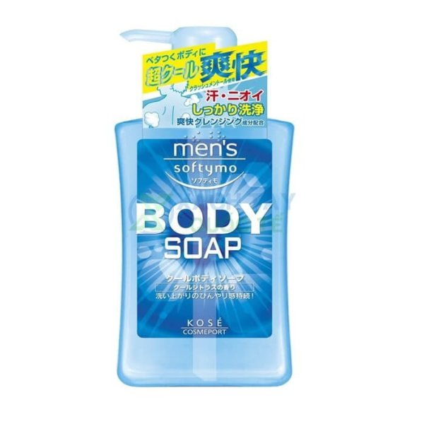 Sữa tắm Kose Softymo Men's Body Soap 550ml (Nam)