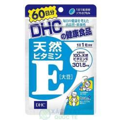Viên uống bổ sung Vitamin E DHC (60 viên/60 ngày)