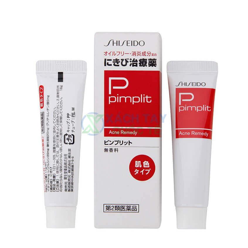 Kem trị mụn Pimplit Shiseido 18g xách tay Nhật