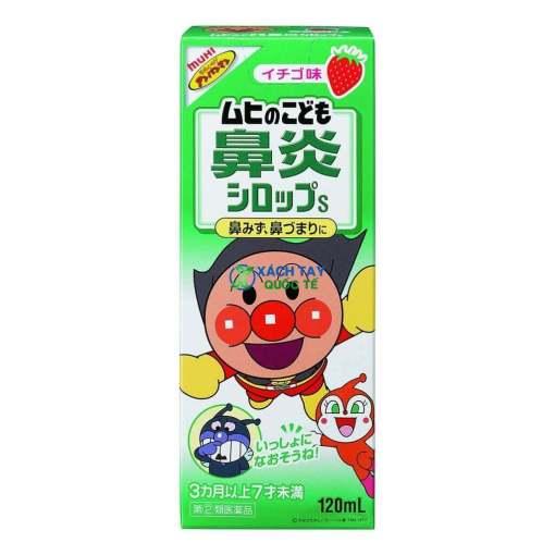 Siro Muhi xanh lá trị viêm mũi, nghẹt mũi