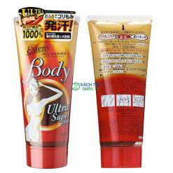 Kem tan mỡ bụng Esteny Hot Body Massage Ultra Super Hard Gel SANA 240g