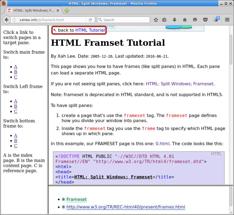 html frames tutorial | Allcanwear.org