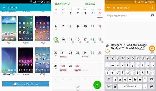 Omega V17 Android 5.0 Lollipop - G900S, G900L, G900K, SCL23, SC04F