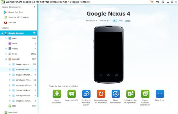 Nhấp vào 'SMS' hoặc 'Tin nhắn' trong panel bên trái để xem cả các tin nhắn đã xóa và không bị xóa trên thiết bị của bạn.